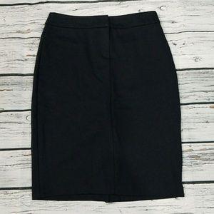 New York & Company pencil skirt navy blue sz XS